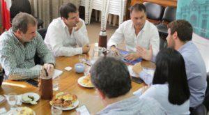 Walter Festa con Ministros