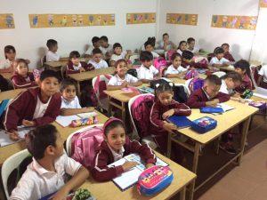 aulas llenas