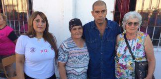 poli denuchi y mujer con cancer