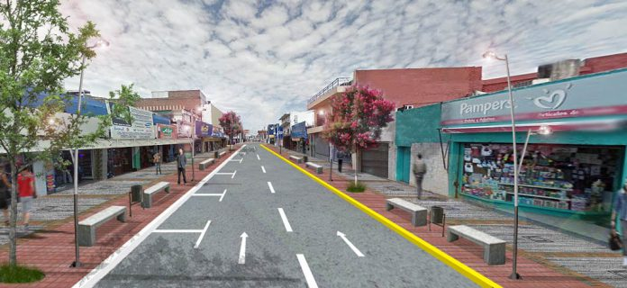 Mejoran el centro comercial de Grand Bourg y Polvorines
