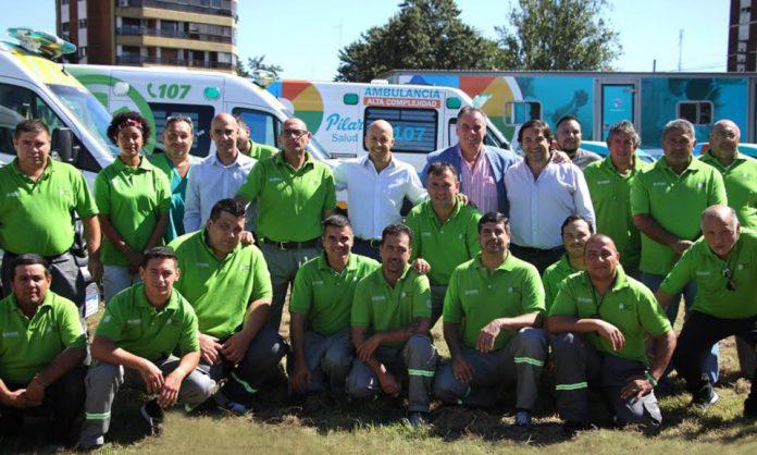 Ambulancias de alta complejidad en Pilar
